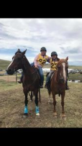 Cobie and Tayla cometing in Cattlekids Cup at MCAV 2018