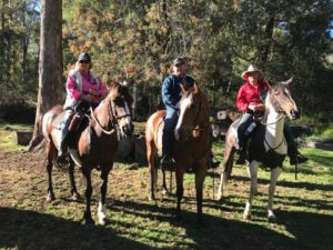 Deb jack and bruce cattle muster 2018